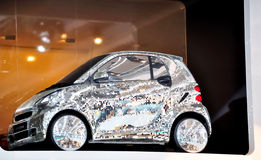 Disco intelligente de Fortwo sur IAA Francfort 2011 Photos libres de droits
