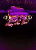 2014 disco invitation background Stock Images