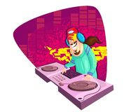Disco Jockey Royalty Free Stock Image