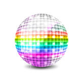 Disco-Kugel lizenzfreie abbildung