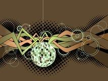 Disco-Kugel-Hintergrund Stockfotografie
