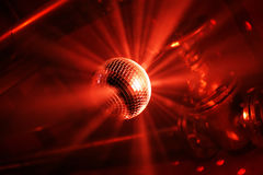 disco kulowego ruch Obrazy Royalty Free