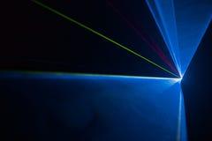 Disco laser light show Royalty Free Stock Image