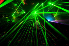 Disco And Laser Show Royalty Free Stock Images