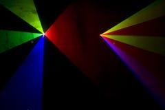 Disco and laser show Stock Photos