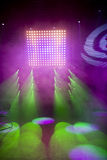 Disco and laser show Stock Photo