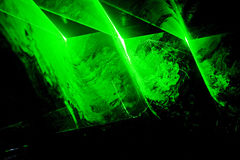 Disco and laser show Stock Photography