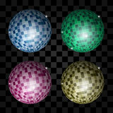Disco light ball Royalty Free Stock Photos