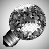 Disco light bulb Stock Photos