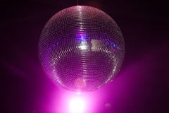 Disco light. In the nightclub Stock Photos
