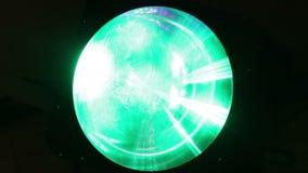 Disco light stock video