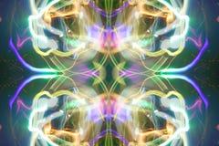 Disco light rush Royalty Free Stock Image