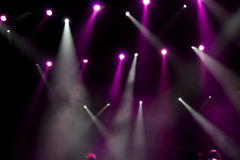 Disco and light show Royalty Free Stock Photography