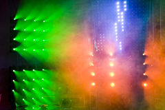 Disco and light show Royalty Free Stock Photo