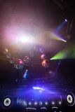 Disco light show, Stage lights Royalty Free Stock Images