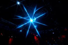 Disco lighting Stock Image