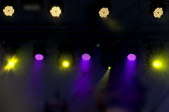 Disco lights Royalty Free Stock Photos