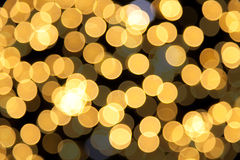 Disco lights. Rainbow disco lights on christmas tree stock images