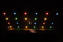 disco lights Στοκ φωτογραφίες με δικαίωμα ελεύθερης χρήσης