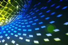 Disco lights background Stock Photos