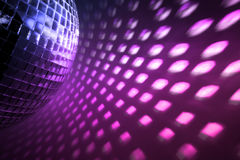 Disco lights background Royalty Free Stock Image