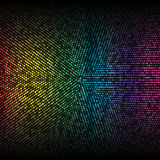 Disco lights background. Vector illustration for your design Royalty Free Stock Images
