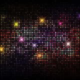 Disco lights background. Abstract background with a disco lights design Stock Photo
