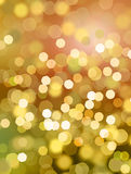 Disco lights background - orange & yellow Stock Images