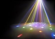 Disco Lights Background royalty free illustration
