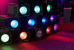 Disco lights Stock Image