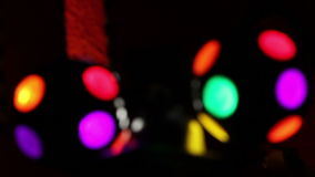 Disco lights. stock video footage