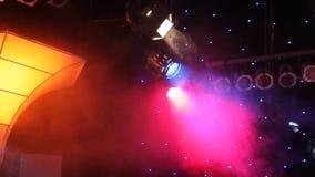 Disco lights stock video