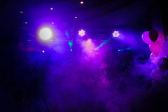 Disco lights and show Royalty Free Stock Photo