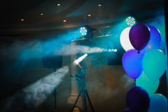 Disco lights and show Stock Photography
