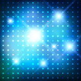 Disco lights. Vector background. Vector glowing background with disco lights Royalty Free Stock Photography