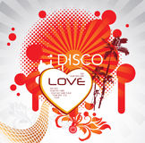 Disco love Royalty Free Stock Photography