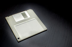 A disco magnetico grigio Immagine Stock Libera da Diritti