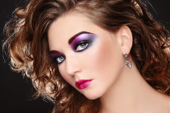 Disco make-up Royalty Free Stock Photos