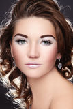 Disco make-up Royalty Free Stock Images