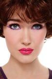 Disco makeup Royalty Free Stock Photos