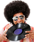 Disco man Stock Photography