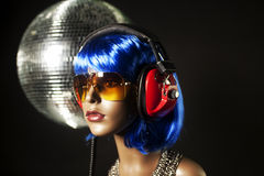 Disco mannequin Royalty Free Stock Image