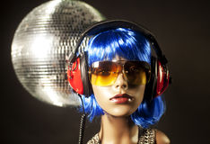 Disco mannequin Royalty Free Stock Images