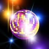 Disco mirror ball Royalty Free Stock Photos