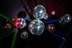 Disco mirror ball Royalty Free Stock Image