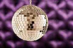 Disco Mirror sphere Royalty Free Stock Photography