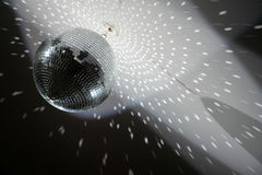 Disco  mirror sphere Stock Images