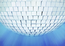 Disco mirrorball stock photo