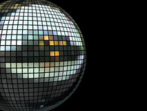 Disco mirrorball Stock Images