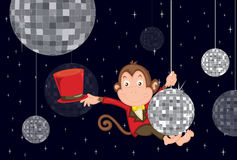 Disco monkey Stock Images